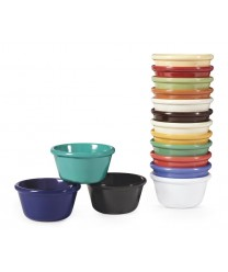 GET Enterprises RM-400-BR Brown Melamine Ramekin, 4 oz. (4 Dozen)