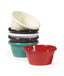 GET Enterprises S-660-R Red Melamine Ramekin, 6 oz. (4 Dozen)