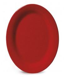 """GET Enterprises OP-320-RSP Red Sensation Oval Platter, 11-1/4""""x 8-1/2""""(1 Dozen)"""