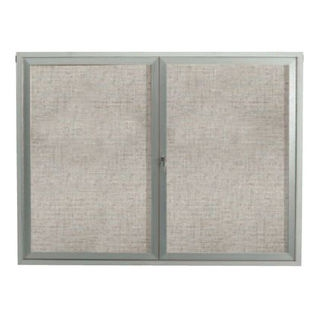 "Aarco RR3636V Removable Letter Panel for Enclosed Bulletin Board, Outdoor Model 36"" x 36"""
