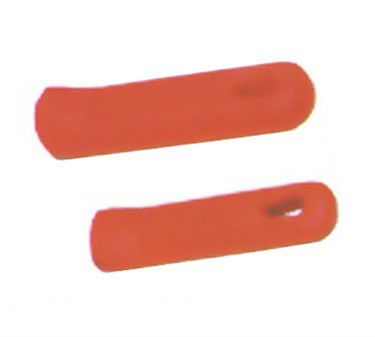 "Winco AFP-2HR Red Removable Silicone Sleeves for 10"" and 12"" Fry Pans"