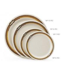 """GET Enterprises NP-6-RD Diamond Rodeo Narrow Rim Plate, 6-1/2""""(4 Dozen)"""