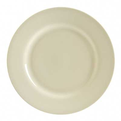 10 Strawberry Street RCR0024 Royal Cream Charger Plate 11-7/8'' - Case of 12