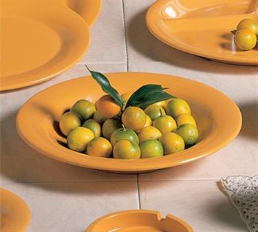 Thunder Group CR5809YW Yellow Melamine Salad Bowl, 13 oz. (1 Dozen)