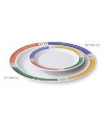 "GET Enterprises DP-906-BA Creative Table Diamond Barcelona Round Plate, 6-1/2"" (4 Dozen)"