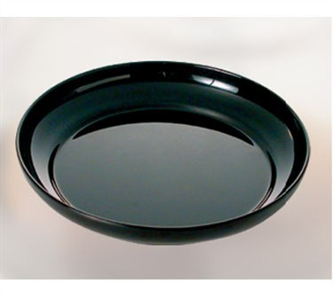"Thunder Group RF1112B Black Pearl Salad Platter 12"" (6 Pieces)"