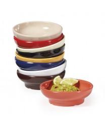 GET Enterprises SD-05-R Red Melamine Salsa Dish, 5 oz. (4 Dozen)