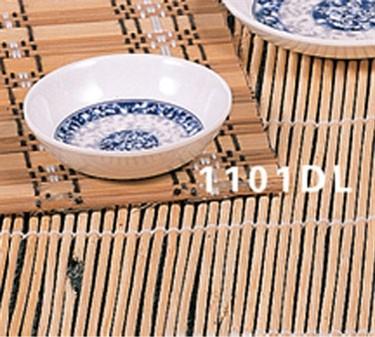 "Thunder Group 1101DL Blue Dragon Sauce Dish 2-3/4"" (1 Dozen)"