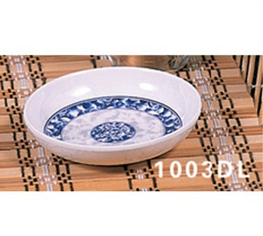 "Thunder Group 1003DL Blue Dragon Sauce Dish 3-7/8"" (1 Dozen)"