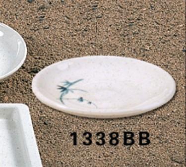 "Thunder Group 1338BB Blue Bamboo Saucer 3-3/4"" (1 Dozen)"