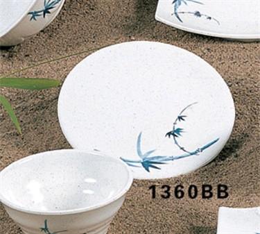 "Thunder Group 1360BB Blue Bamboo Saucer 5-7/8"" (1 Dozen)"
