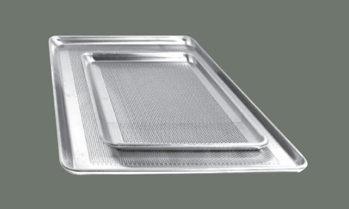 "Winco ALXP-1622 Aluminum Sheet Pan, 16"" x 22"", 2/3 Size"