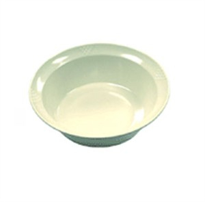 GET Enterprises BB-105-3-W Sonoma White Bowl, 3 Qt. (1 Dozen)