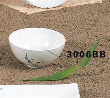 Thunder Group 3006BB Blue Bamboo Soup Bowl 8 oz. (1 Dozen)