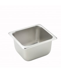 Winco SPS4 1/6 Size Steam Table Pan, 4'' Deep