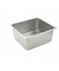 Winco SPTT6 2/3 Size Steam Table Pan, 6'' Deep, 25-Gauge