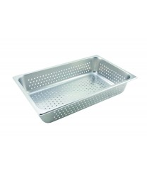 Winco SPFP4 Full Size Perforated Steam Table Pan, 4'' Deep