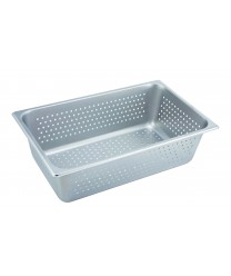Winco SPFP6 Full Size Perforated Steam Table Pan, 6'' Deep