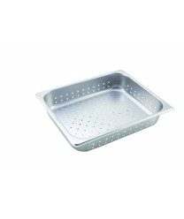 Winco SPHP2 Half Size Perforated Steam Table Pan, 2-1/2'' Deep