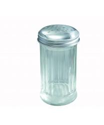Winco G-103 Glass Sugar Pourer with Perforated Top 12 oz. (1 Dozen)