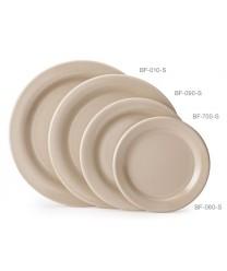 """GET Enterprises BF-090-S Tahoe Sandstone Round Plate 9""""(2 Dozen)"""