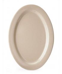 """GET Enterprises OP-115-S Tahoe Sandstone Oval Platter, 11-1/2""""x 8""""(2 Dozen)"""