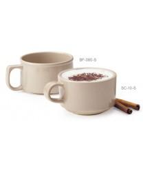 GET Enterprises BF-080-S Tahoe Sandstone Melamine Mug 11 oz. (2 Dozen)