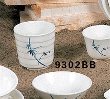 Thunder Group 9302BB Blue Bamboo Tea Cup 10 oz. (1 Dozen)