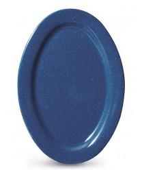 """GET Enterprises OP-115-TB Texas Blue Oval Platter, 11-1/2""""x 8""""(2 Dozen)"""