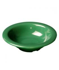 Thunder Group CR5044GR Green Melamine Salad Bowl 4 oz. (1 Dozen)