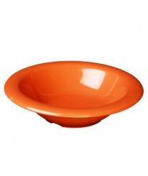 Thunder Group CR5044RD Orange Melamine Salad Bowl 4 oz.  (1 Dozen)