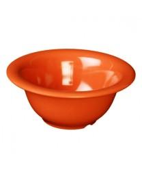 Thunder Group CR5712RD Orange Melamine Soup Bowl 12 oz. (1 Dozen)