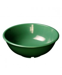 Thunder Group CR5807GR Green Melamine Salad Bowl 24 oz. (1 Dozen)