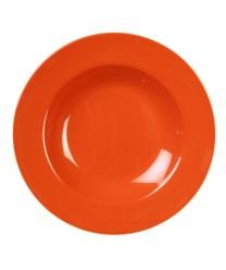 Thunder Group CR5811RD Orange Melamine  Pasta Bowl 16 oz. (1 Dozen)