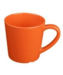 Thunder Group CR9018RD Orange Melamine Mug / Cup 7 oz.  (1 Dozen)