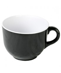 Thunder Group RF9475BW Black Pearl Two Tone Soup Mug 23 oz.