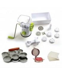 TigerChef White Pasta / Burger Maker Supplies Set