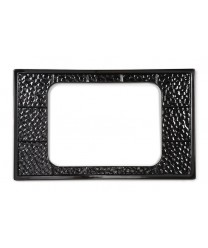 GET Enterprises ML-174-BK Black Full Size Tile with One Cut-Out for GET Enterprises ML-178