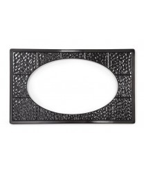 GET Enterprises ML-192-BK Black Full Size Tile with One Cut-Out for ML-183 or ML-184