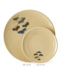 """GET Enterprises 207-10-TK Tokyo Japanese Round Plate, 10-1/2""""(1 Dozen)"""