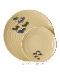 """GET Enterprises 207-70-TK Tokyo Japanese Round Plate, 7""""(1 Dozen)"""