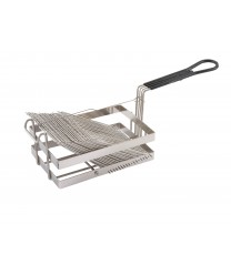 Winco TB-18 Tostada Fryer Basket, Holds 18 Shells