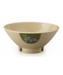 GET Enterprises B-643-TD Japanese Traditional Melamine Bowl, 20 oz. (1 Dozen)