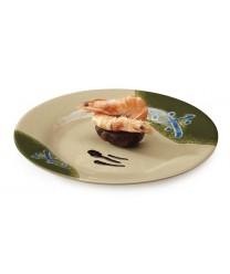 """GET Enterprises M-5080-TD Traditional Japanese Dinner Plate, 9-1/2""""(1 Dozen)"""