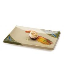 "GET Enterprises 138-TD Japanese Traditional Rectangular Plate, 5-1/2""x 8""(1 Dozen)"