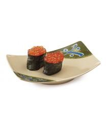 "GET Enterprises 141-TD Japanese Traditional Rectangular Plate, 6-3/4""x 4-1/2""(1 Dozen)"