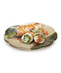 "GET Enterprises 139-TD Japanese Traditional Scallop Shape Plate, 8""(1 Dozen)"