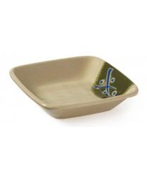"GET Enterprises 035-TD JJapanese Traditional 4 oz. Square Dish, 4""x 4""(2 Dozen)"