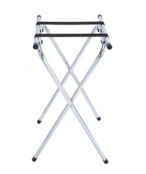 Winco TSY-1A Chrome Folding Tray Stand, 31