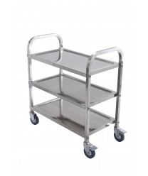 Winco SUC-30 3-Tier Stainless Steel Trolley